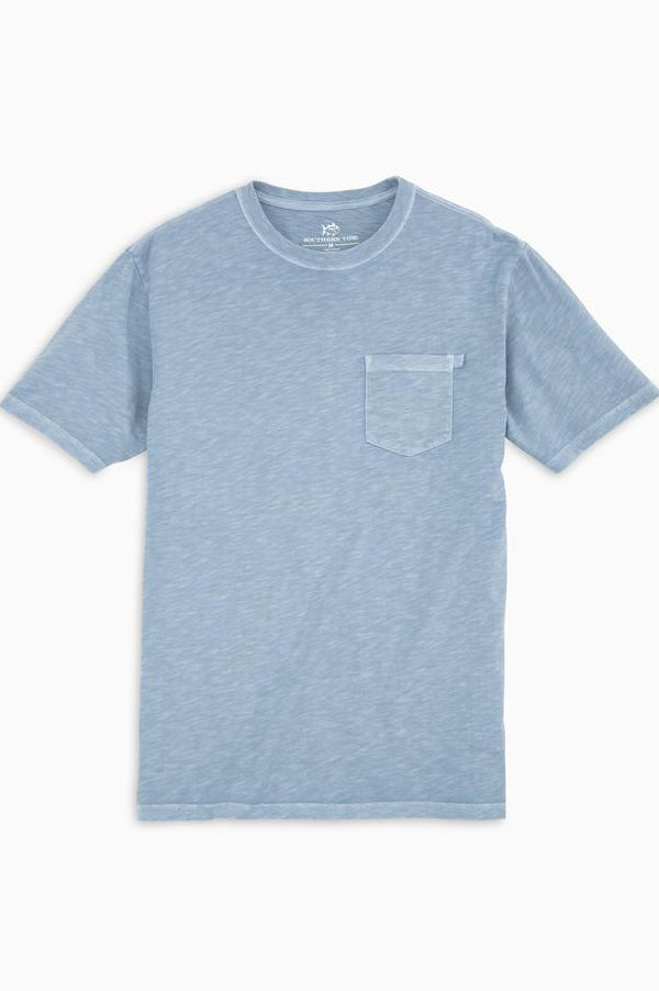 Beachwalker Short Sleeve Pocket T-shirt | Ash Blue