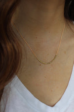 Morse Code Necklace | Happy