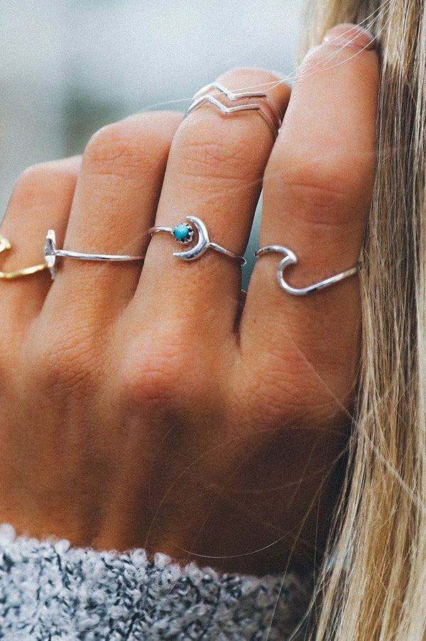 Wave Ring | Silver