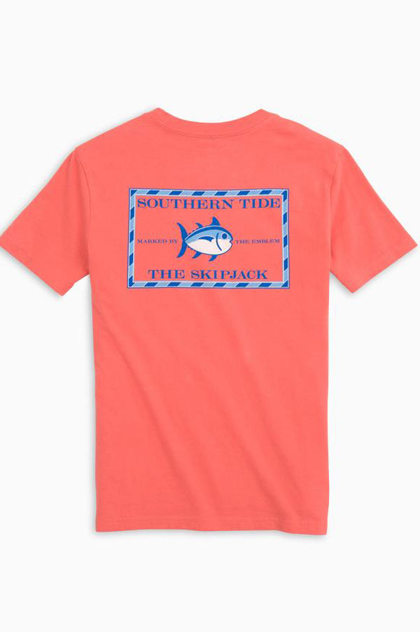 Original Skipjack Youth T-shirt | Sea Coral