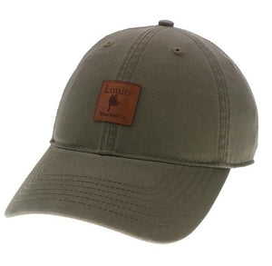 Moss Green Dad Hat-hat-Limits Waterfowl Co.-Limits Waterfowl Co.