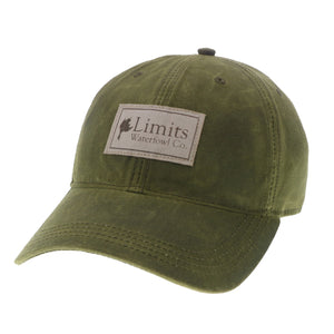 Olive Waxed Cotton-hat-Limits Waterfowl Co.-Limits Waterfowl Co.