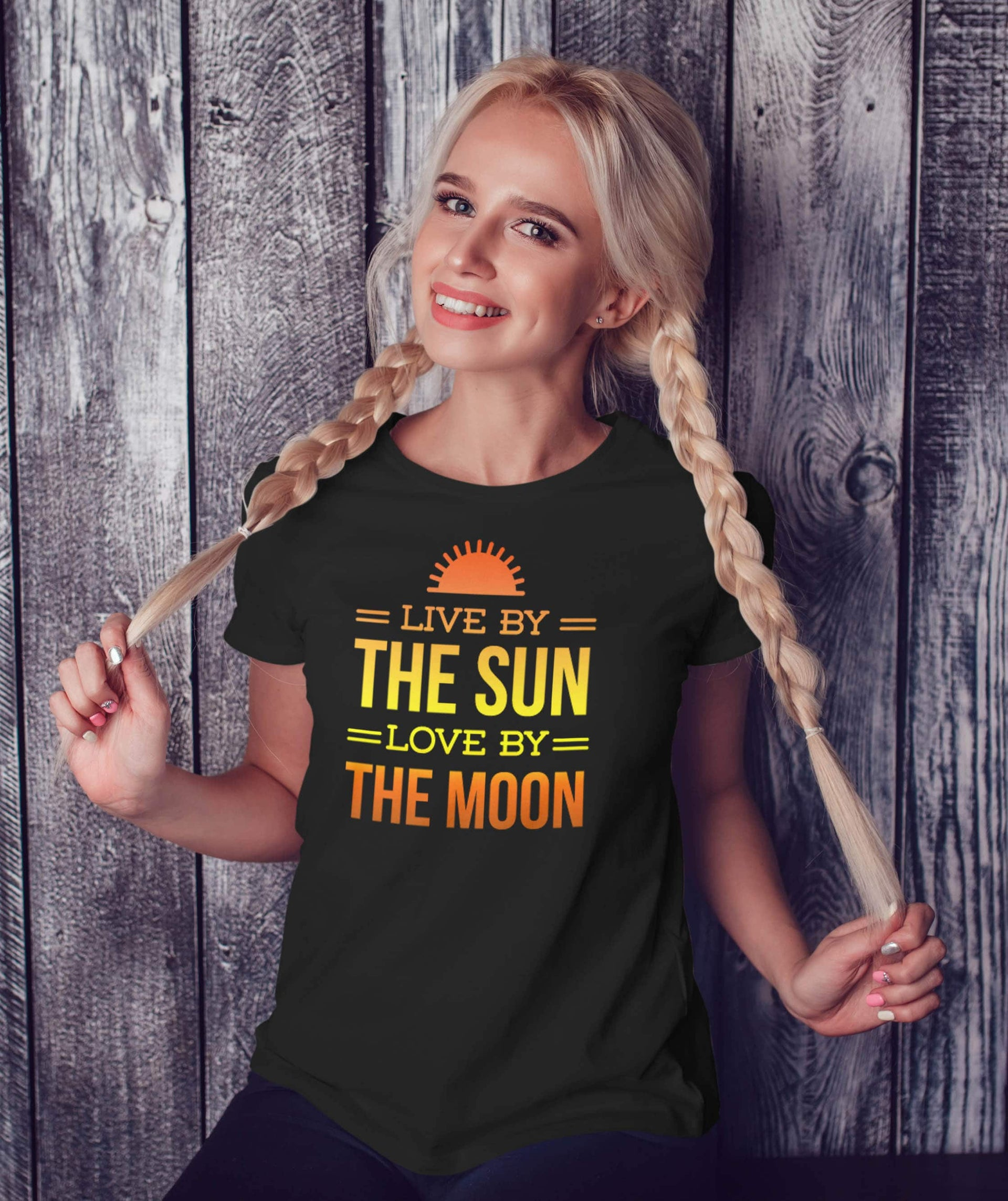 Nautical Shirt Live By The Sun Love By The Moon