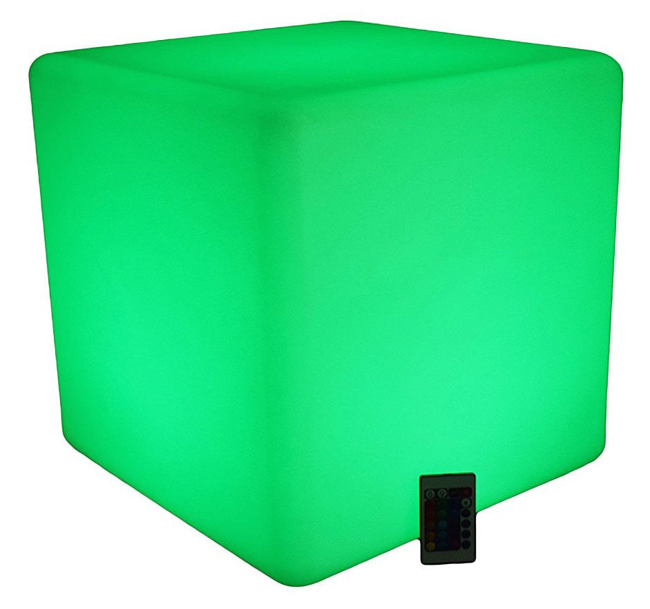 Led Cube - Led Lighted Ottoman ZA