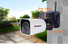 Wireless PTZ IP Camera Outdoor Waterproof Camera 4X Optical Zoom - Pan - Tilt by Mobile App