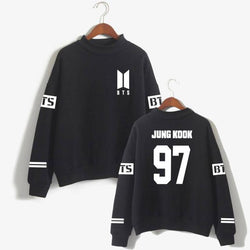 BTS 'Casual' Members Sweater Black The KPOP Dept. - KPOP AIR