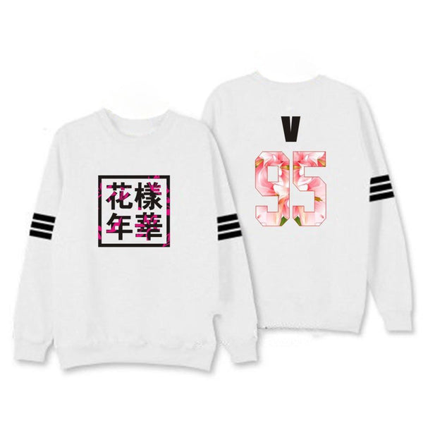 BTS 'HYYH' Sweater White thekpopdept - KPOP AIR