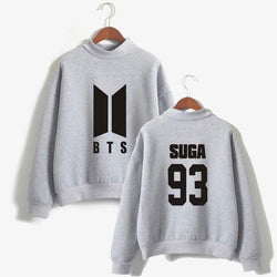 BTS 'Members' Casual Sweater Grey The KPOP Dept. - KPOP AIR