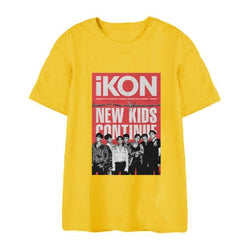 "IKON ""NEW KIDS CONTINUE"" 1  T-SHIRT"