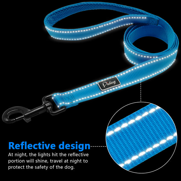 Reflective Dog Collar & Leash Set- Special Value Collars - DogTrunk