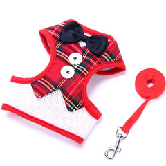 Dog Vest Harness and Leash Set