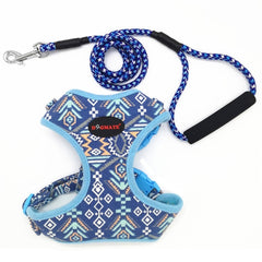 Native Fabric Dog Harness