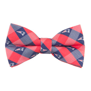 New England Patriots Bow Tie Check