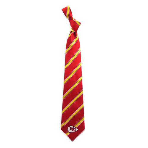 Kansas City Chiefs Tie Woven Poly 1