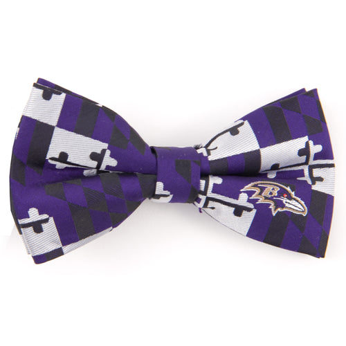 Baltimore Ravens Bow Tie MD Flag