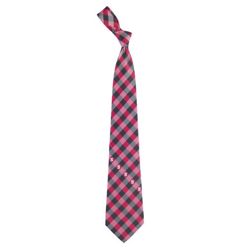 NC State Wolfpack Tie Check