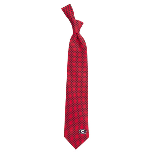 Georgia Bulldogs Tie Diamante