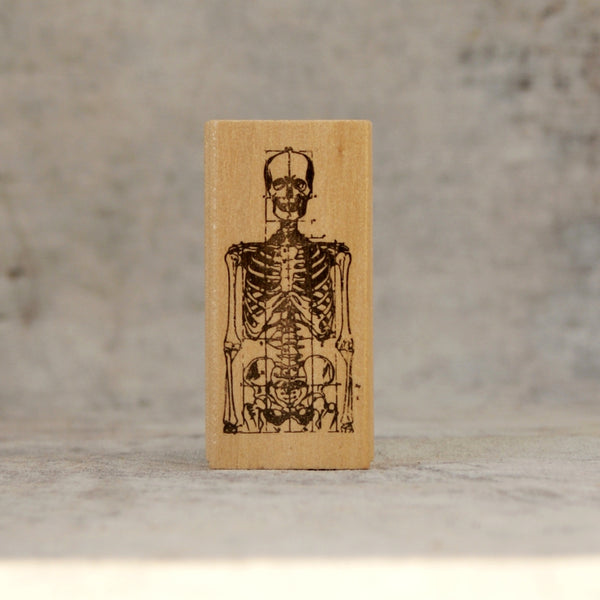 Skeleton stamp