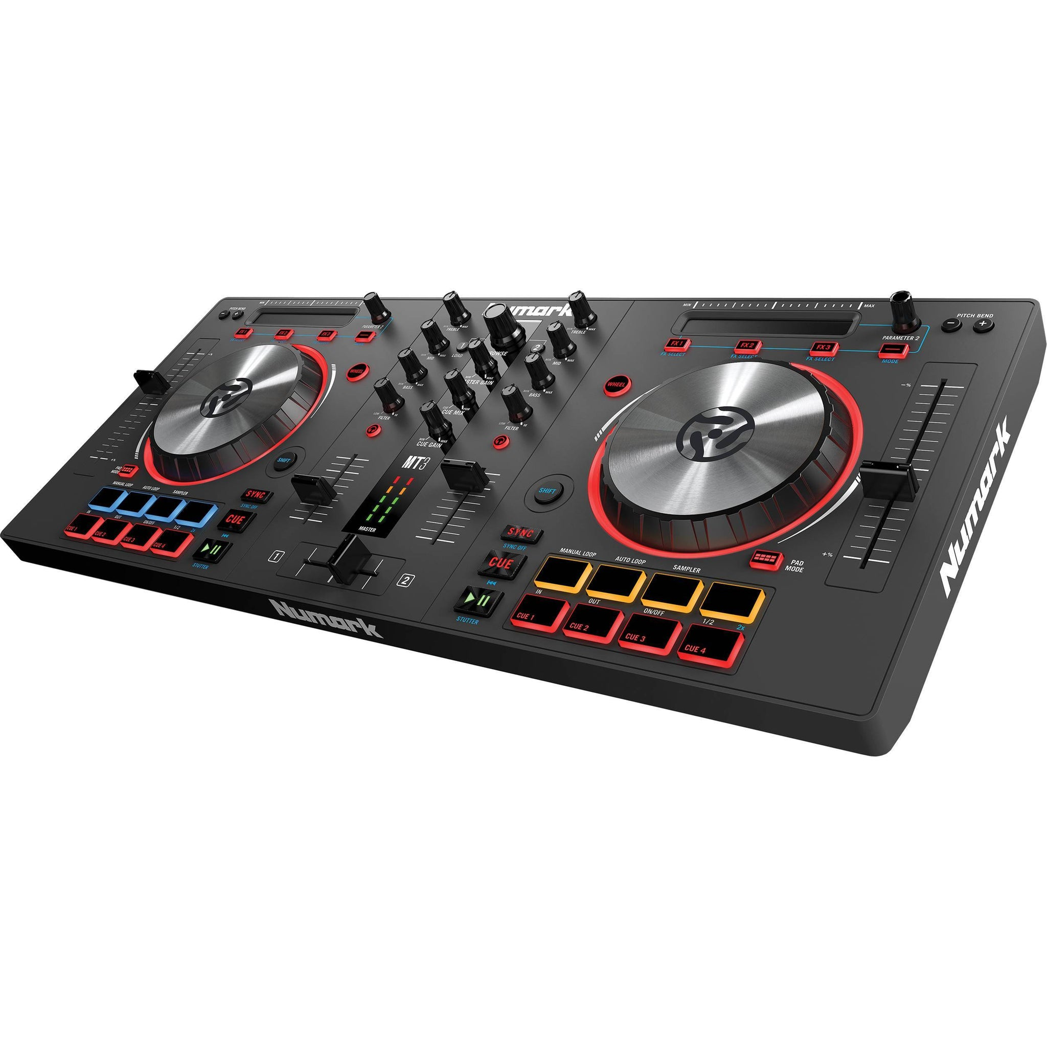 Numark Mixtrack 3 - DJ Controller for Virtual DJ Software