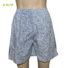 Organic herbal dyed unisex innerwear boxer long alphabet print cambric (2 colours)