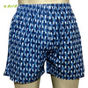 Organic herbal dyed unisex innerwear boxer cross over print cambric (2 colours)