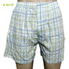Organic herbal dyed unisex innerwear boxer checks print cambric (2 colours)