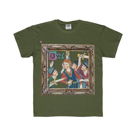 FML Medieval Art Youth Regular Fit Tee