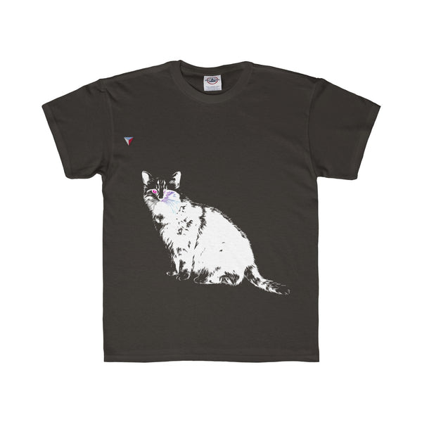 White Cat Youth Regular Fit Tee