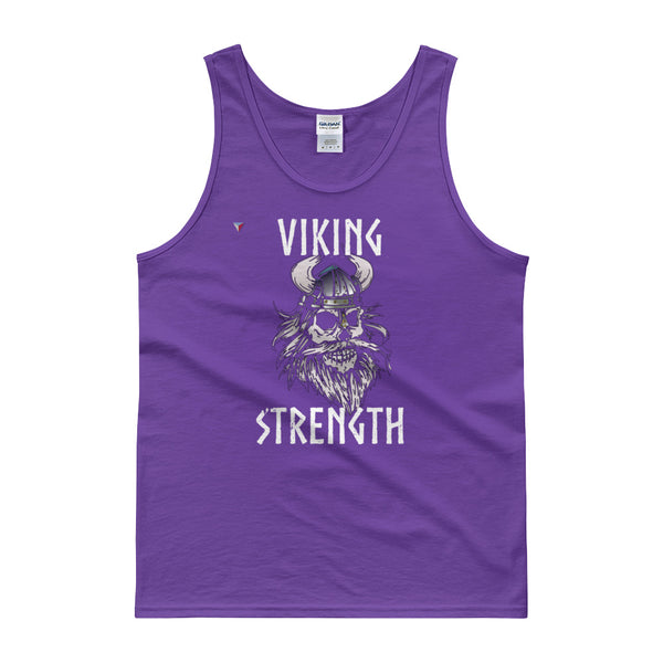 Viking Strength Skull Tank top