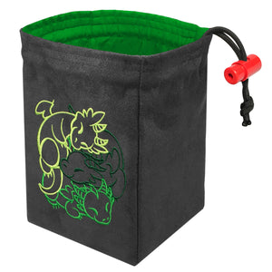Fantasticute Dragons - Embroidered Dice Bag