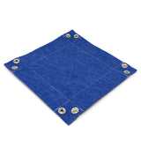 Felt Collapsible Dice Tray - Blue