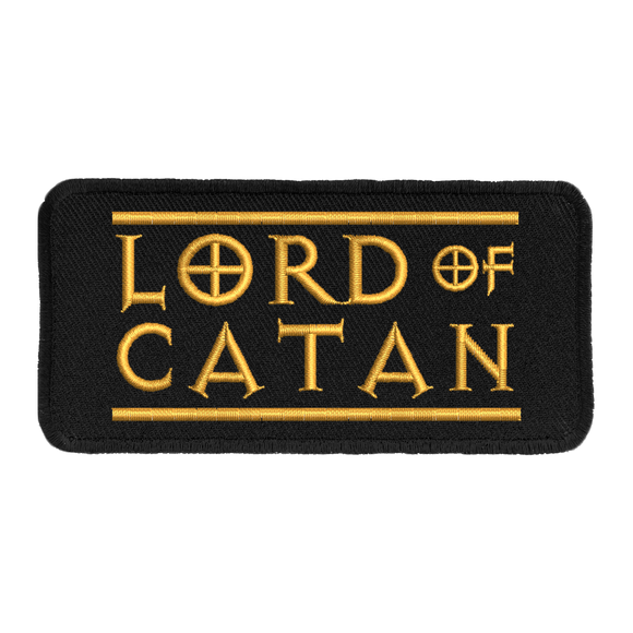 Lord of Catan - Iron-On Patch