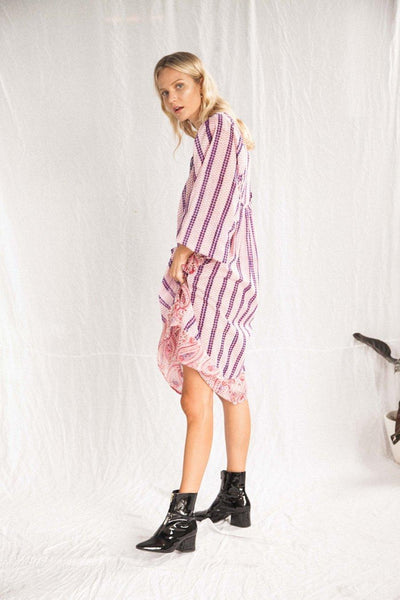 The Marrakech Tribal Dress - Pink