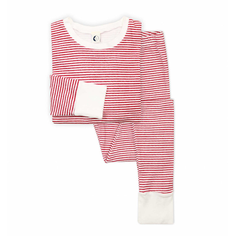 SLEEPY DOE | Classic Mumma PJ Set | Berry Stripe