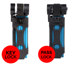 Folding Lock Pro - Revolutionizes how cyclists secure their beloved bicycles!