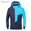 Image of Men's Waterproof Windproof Fleece Ski/Snow Jacket