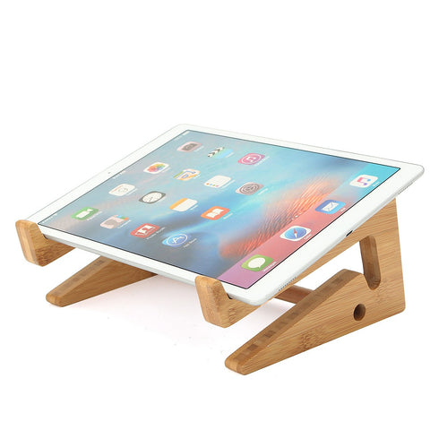 Detachable Wooden Laptop Desk Laptop Stand For Macbook Tablet PC Notebook
