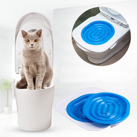 High-Quality ABS Pet Toilet Trainer - Puppy Cat Toilet Litter Trainer 40x40x3.5 cm