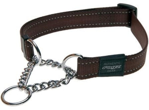 Rogz Utility Collar Obed Chocolate