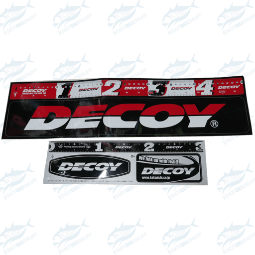 Decoy Measuring Sticker - KBE Anglers Hub