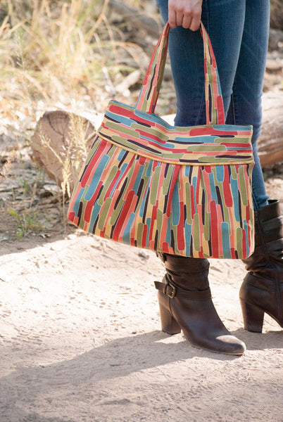 Pleated Tote Sewing Pattern