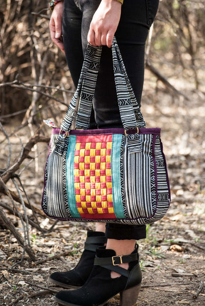 Basketweave Bag Sewing Pattern