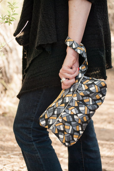 Pleated Clutch Sewing Pattern