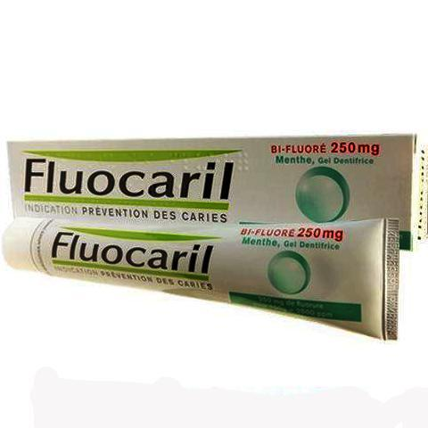 FLUOCARIL FLUOCARIL Gel bi-fluoré 250mg menthe adulte Tube/125ml