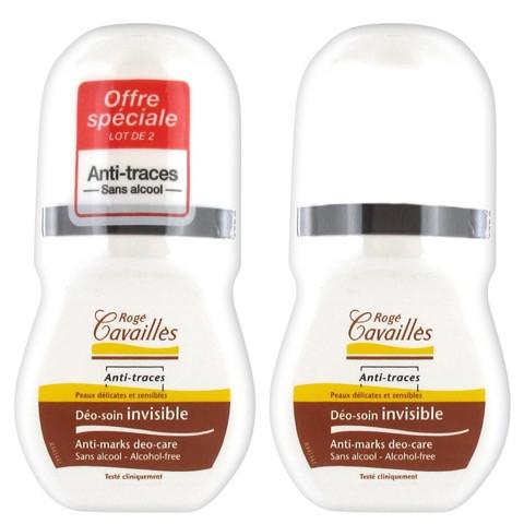 Rogé Cavaillès DEO ABSORB + Déodorant Roll-on invisible 2x50ml