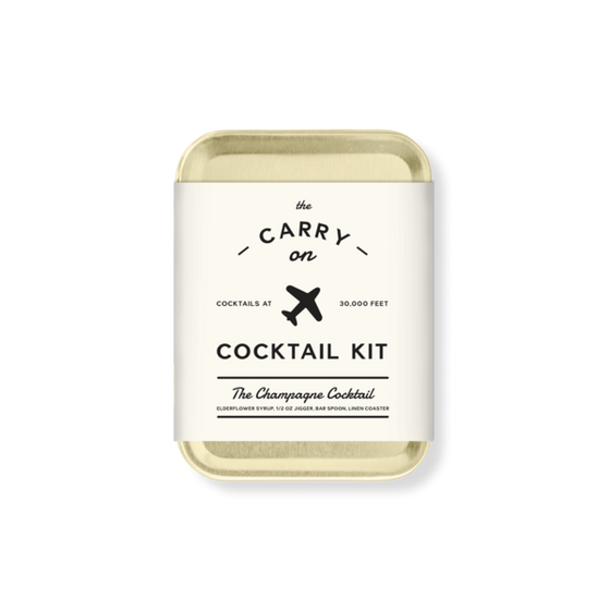 Champagne Cocktail Carry On Kit - W & P Design