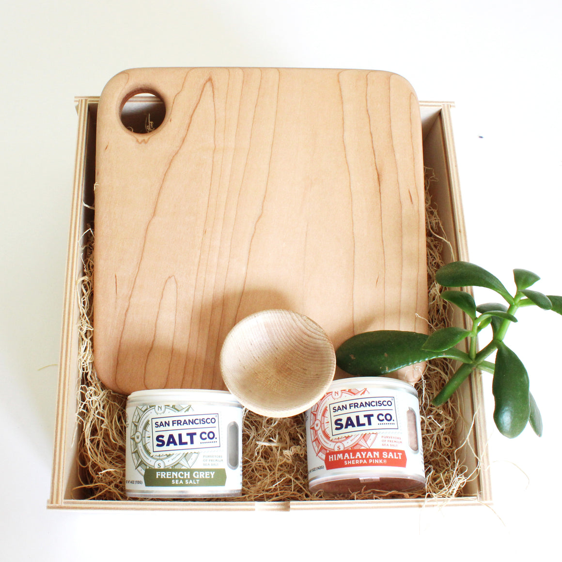maple bar board gift set