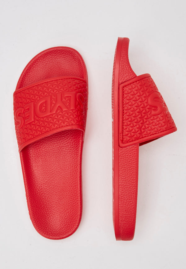 Slydes - Cali Men's Red Sliders - The Worlds Best Sliders & Sandals