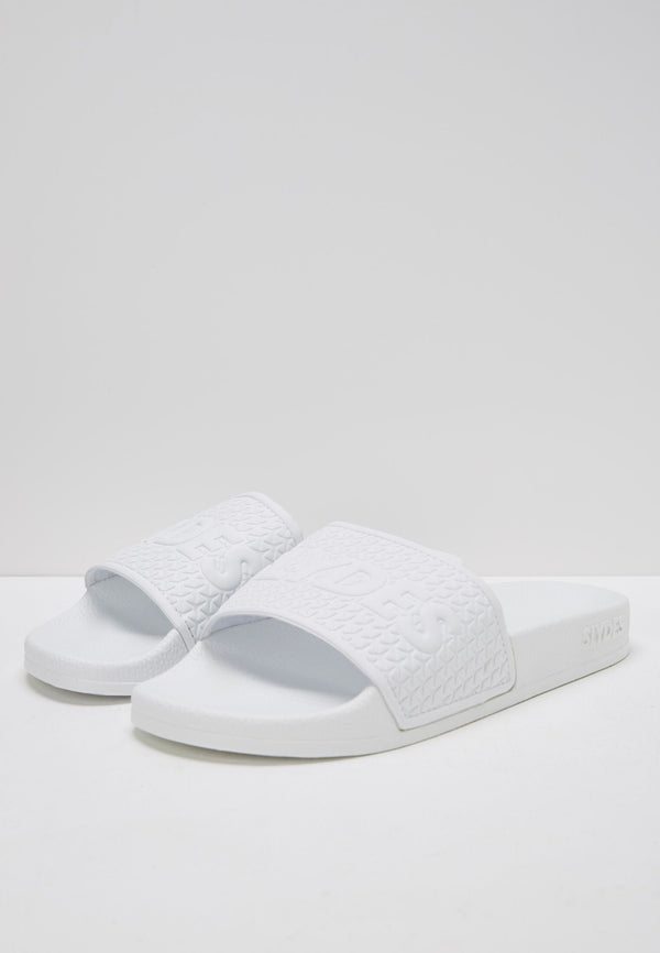 Slydes - Cali Men's White Sliders - The Worlds Best Sliders & Sandals