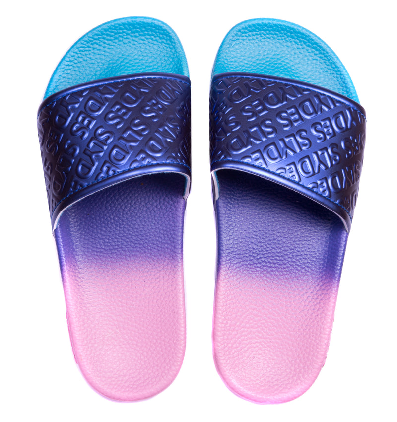 Slydes - Chance Women's Pink/Purple Haze Sliders - The Worlds Best Sliders & Sandals
